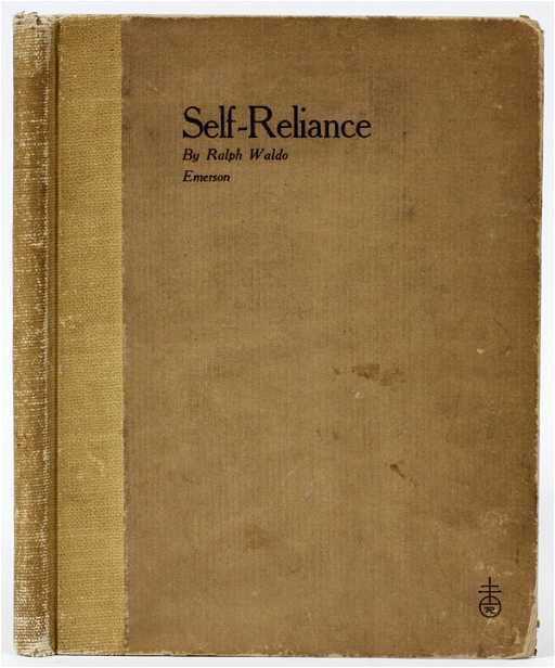 rw emerson self reliance