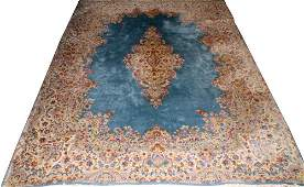 KERMAN PERSIAN HAND WOVEN WOOL CARPET
