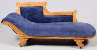 EASTLAKE MAPLE FAINTING COUCH