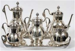 TIFFANY  CO STERLING TEA  COFFEE SET C 185469