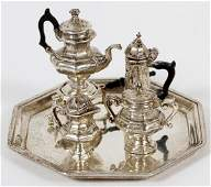STERLING SILVER MINIATURE TEA SET