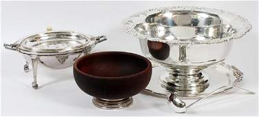 ENGLISH & AMERICAN PUNCH BOWL & OTHERS