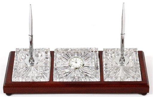 Waterford Crystal Desk Set
