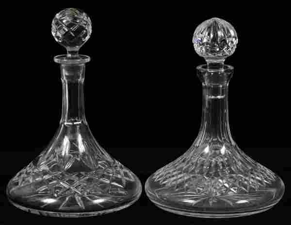 WATERFORD CRYSTAL DECANTER & ANOTHER DECANTER
