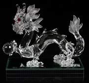 SWAROVSKI 'FABULOUS CREATURES' CRYSTAL DRAGON