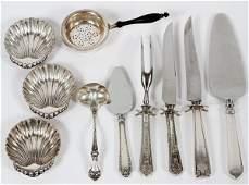 AMERICAN STERLING TABLEWARE & SERVING PIECES