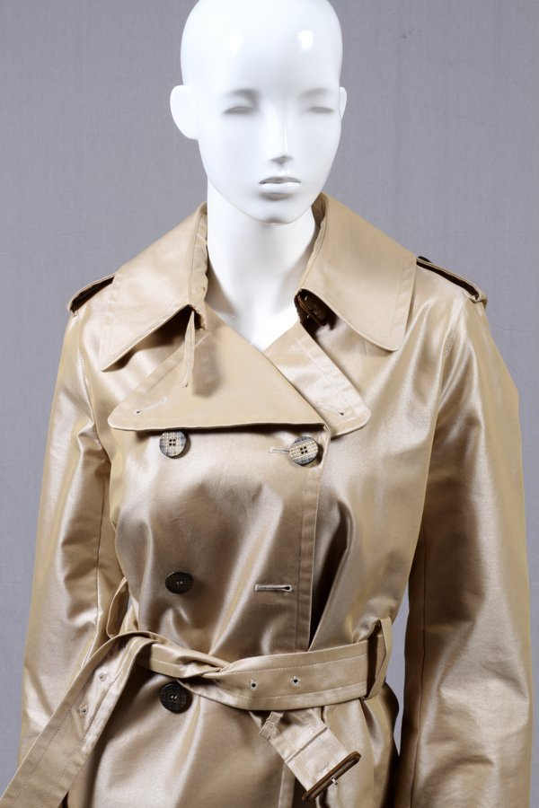 BURBERRY DOUBLE-BREASTED TRENCH COAT - 2