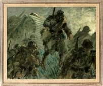 LOUIS ICART OIL ON CANVAS 1940