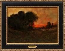 WESLEY WEBBER, OIL C. 1870