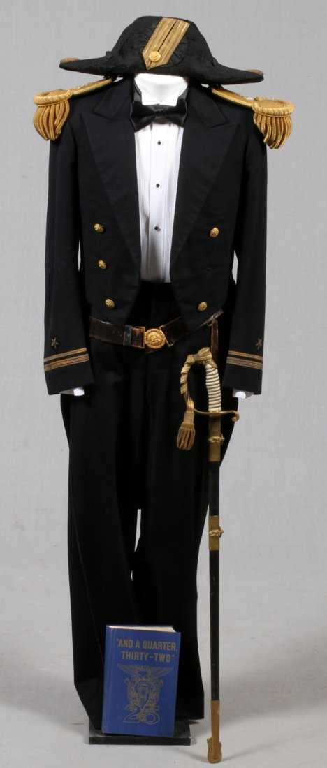 Post Wwi Us Navy Mess Dress Uniform Ensemble