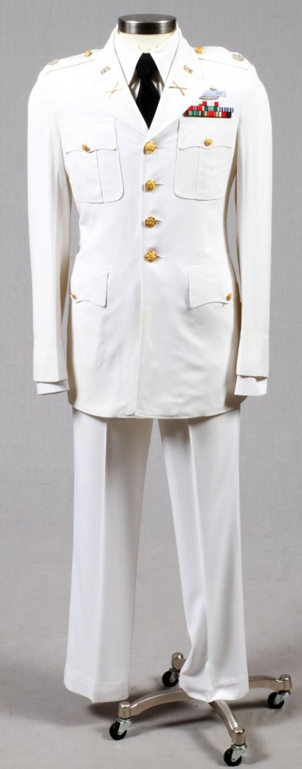 U.S. ARMY PRE-WWII TROPICAL DRESS WHITE UNIFORM