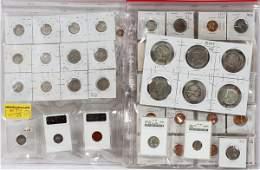 INDIAN LIBERTY-HEAD BUFFALO NICKEL COINS ETC 1822-