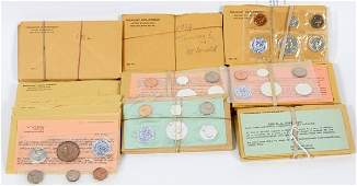 U.S. PROOF COIN SET MINT-COLLECTION 1957-64SETS