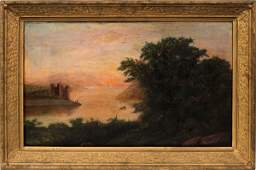 OIL ON CANVAS 19TH C