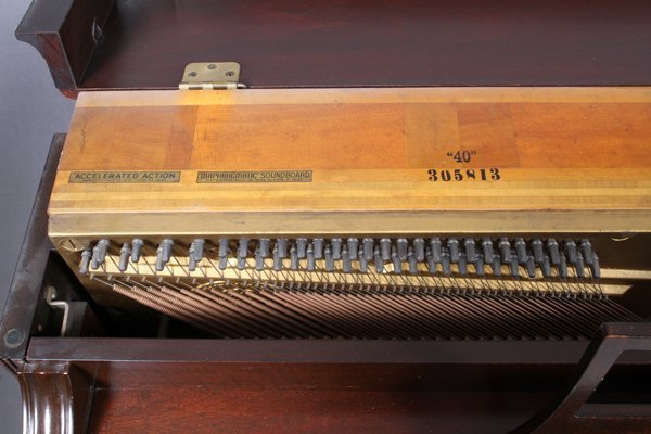 STEINWAY MODEL 40 UPRIGHT PIANO #305813 1941 - 2