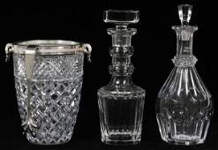 BACCARAT HARCOURT CRYSTAL DECANTER