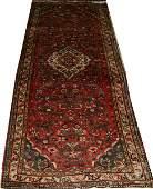 110214 MASHAD WOOL PERSIAN ORIENTAL RUG 112 X 48