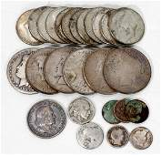 110294: COLUMBIAN EXPO HALF-DOLLAR, U.S. SILVER COINS