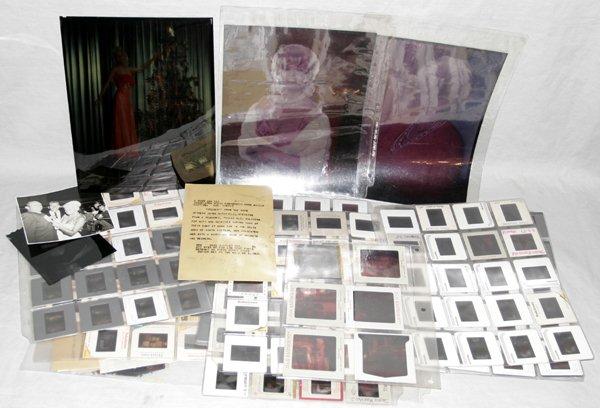 110433: JAYNE MANSFIELD PHOTO TRANSPARENCIES & SLIDES