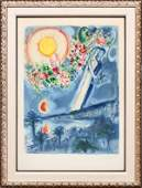 CHARLES SORLIER AFTER MARC CHAGALL LITHOGRAPH