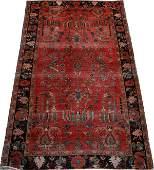 SAROUK PERSIAN RUG EARLY 20TH C. 5' 3  X3' 3