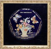 121510 FRED ZUCCHI LIMOGES PORCELAIN PLATE 1973 8