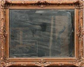 Modern Gilt Beveled Mirror