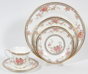 Royal Doulton Canton Porcelain Dinner Service