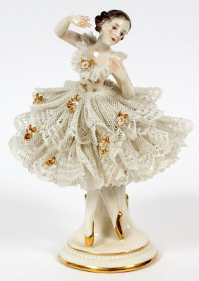 German Porcelain Ballerina