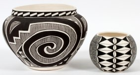Acoma South West Pottery Vases