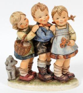 Hummel Porcelain Figurine Group