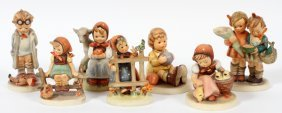 Hummel Bisque Figurines Seven