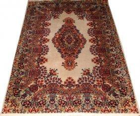 Kerman Persian Oriental Carpet Machine Made