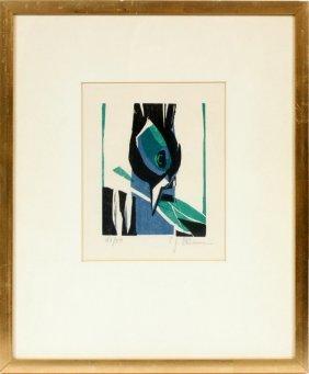 Carl-heinz Kliemann Color Woodcut #16/50