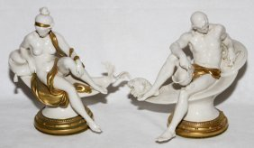 Capodimonte Porcelain God & Goddess Figures