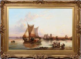 Ebenezer Wake Cooke Oil On Canvas