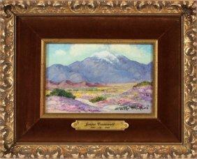 Joane Cromwell Oil On Canvas Board