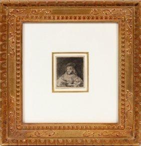 Rembrandt Van Rijn Basan Edition Etching