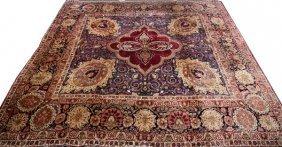 Lavar Persian Rug Late 19th C.
