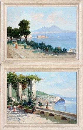 V. Ciappa Oil Paintings 20th C.