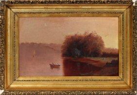 Heppie Wicks Oil On Board 1879