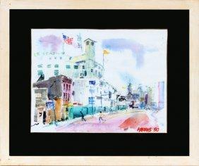 Sam Karres Watercolor 1980