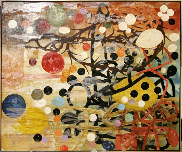 """12005: T.L. SOLIEN, OIL ON CANVAS, """"UNTITLED"""""""
