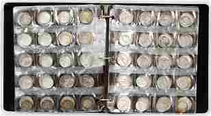 SILVER AND SILVER CLAD COINS 70 PCS