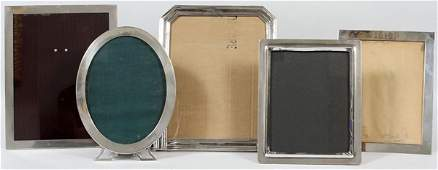 AMERICAN & ENGLISH STERLING PICTURE FRAMES