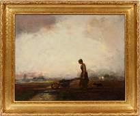 DOUGLAS ARTHUR TEED OIL ON BOARD