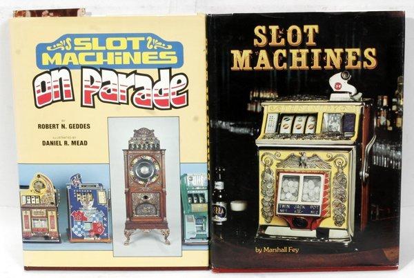 020019:  BOOKS ON SLOT MACHINES BY GEDDES & FEY