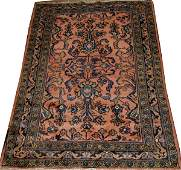 022243 LILLIHAN PERSIAN WOVEN RUG C 1910 49x37