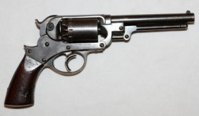 Starr Navy Double Action Model .36 Cal Revolver