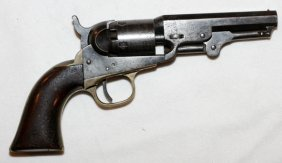 Colt Percussion Cap Model 1849 Pocket Pistol 1868